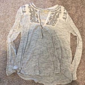 Lucky brand shirt medium